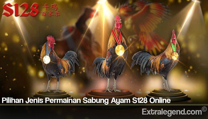Pilihan Jenis Permainan Sabung Ayam S128 Online