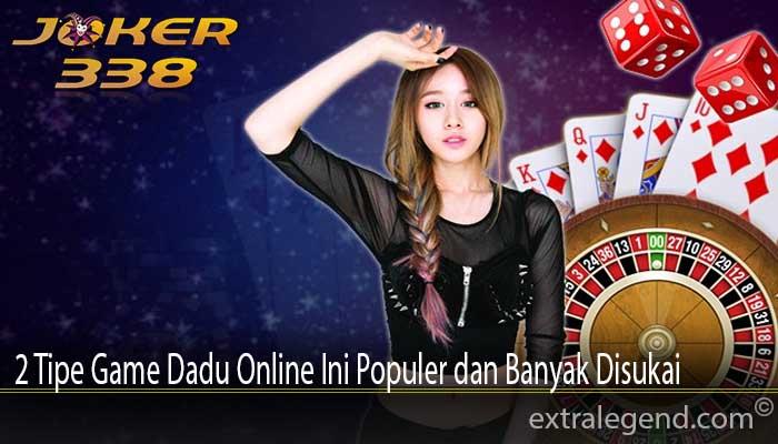 2 Tipe Game Dadu Online Ini Populer dan Banyak Disukai