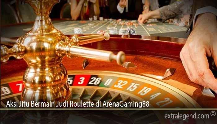 Aksi Jitu Bermain Judi Roulette di ArenaGaming88